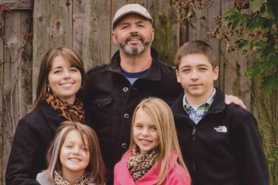Photo of Coal Cracker Advisor Ray Cavenas and family.