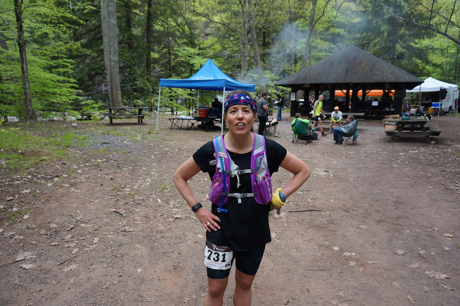Photo of Sharon Smith who channels her inner honey badger when running ultramarathons.