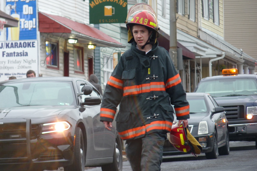 Fireman photo by David Lindenmuth.