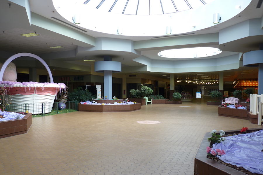 Snapshot photo by David Lindenmuth of the Schuylkill Mall.