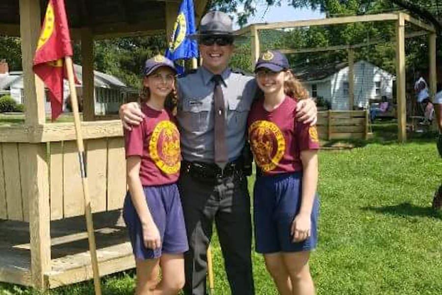 Photo of Camp Cadet counselor Sara Dimmick.