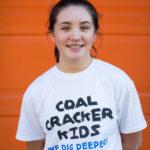 Photo of Coal Cracker reporter Oceana O'Boyle by Nikki Stetson.